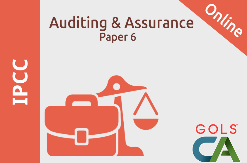 Paper 6 Auditing And Assurance  ( Old Syllabus )