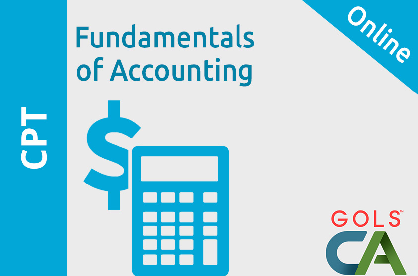 Fundamentals of Accounting ( Old Syllabus )