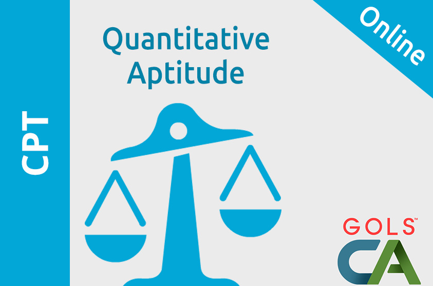 Quantitative Aptitude  ( Old Syllabus)